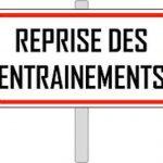 Saison 2018-2019 : Reprise des entraînements