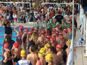 Résultats Prise de temps Ecole de natation