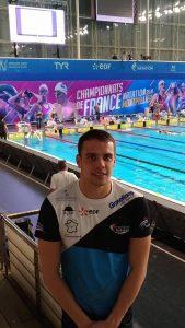 Geoffrey HOOGE Finaliste des Championnats de France Elite à Rennes