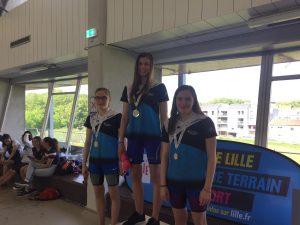 Résultats Finale de la médaille en N'Ord : 12 podiums pour les nageurs Gravelinois !!!