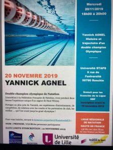 Rencontre avec Yannick Agnel